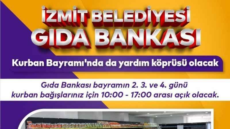İzmit Belediyesi, Kurban Bayramı'nda dayardım köprüsü olacak