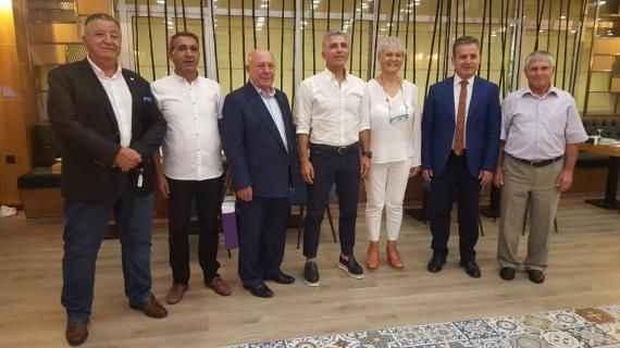 Ali Düşmez, Burdur'da Bölge ASKF Başkanları ile bir araya geldi