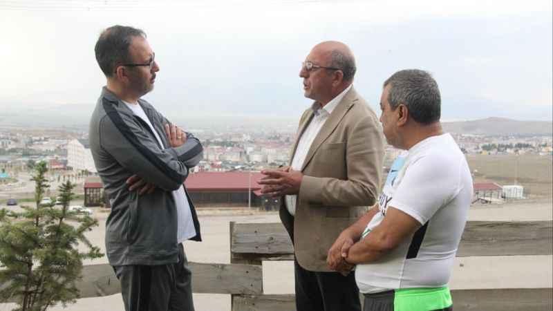 Kocaelispor Başkanı Engin Koyun ile zirvede dobra dobra: Spor bakanımıza bir proje sunacağız