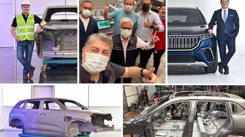 Yerli otomobilin montajı Kocaeli'de yapıldı!