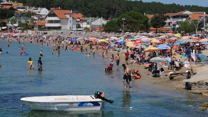 Kandıra sahilleri 800 bin misafir ağırlayacak