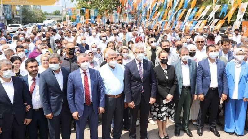 AKP Kocaeli teşkilatları bayramlaştı
