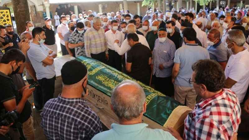 Öldürülen federasyon başkanı son yolculuğuna uğurlandı