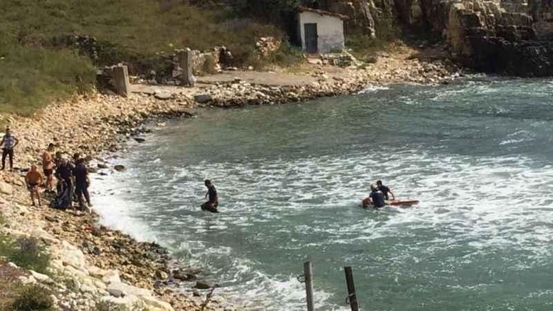 Denizde kaybolan gencin 25 saat sonra cesedi bulundu