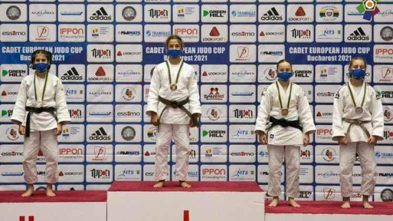Judocularımız Romanya'da kürsüye çıktı