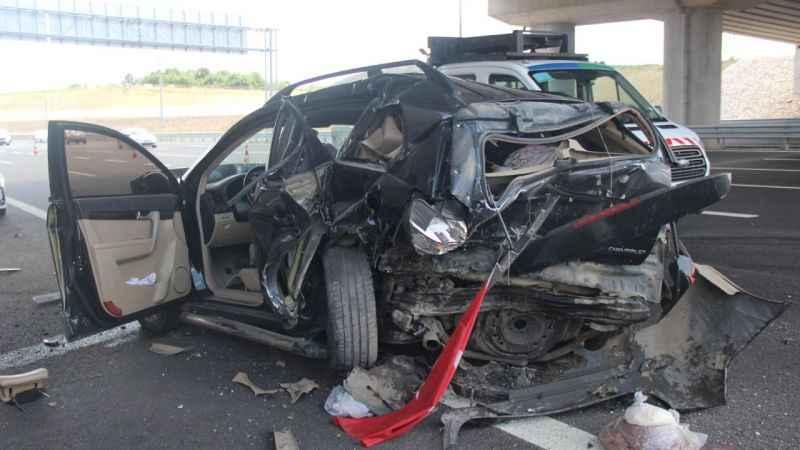 Kuzey Marmara'da bayram dönüşü kaza: 1'i çocuk 5 yaralı