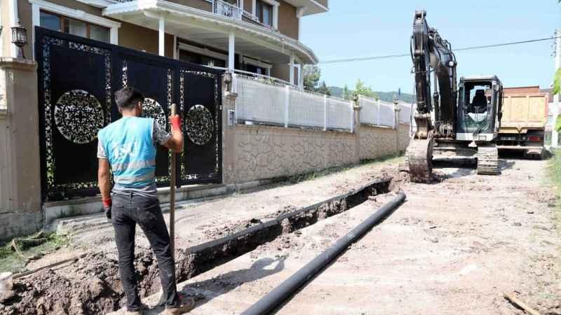 Başiskele'de altyapı projesi başladı