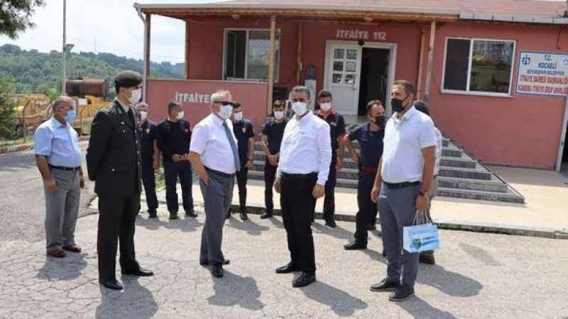 Başkan Turan, bayramı ziyaretlerle tamamladı