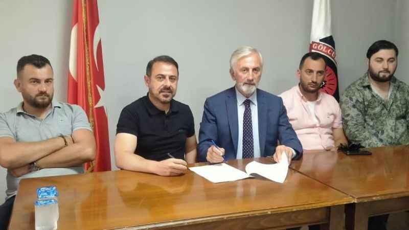 Gölcükspor'da Can Güven imzaladı