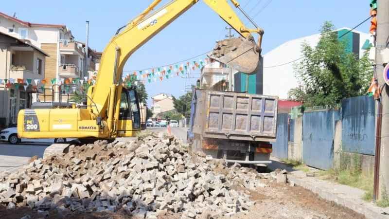 Yıllardır el değmeyenYenişehir hastane yolu asfaltlanıyor