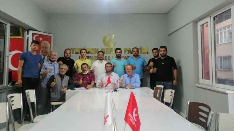 YRP Derince'nin ilçe divanı toplandı