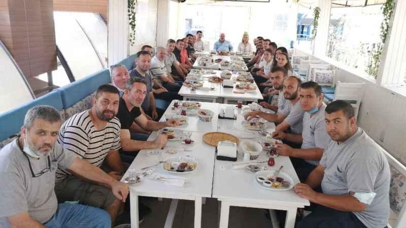 BELSA yönetiminden personele kahvaltı