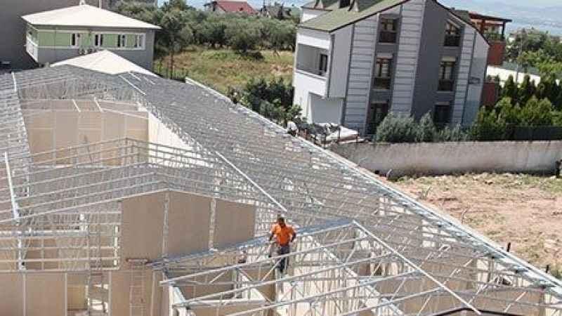 Gebzespor Kamp Tesisleri yükseliyor