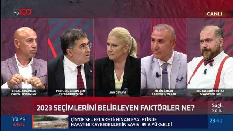 Prof. Dr. Ersan Şen: Hürriyet'e bakın çatır çatır çalışıyor