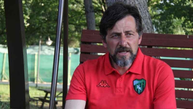 Kocaelispor'un başarılı antrenörü Karslı: Savunma oyunu oynamıyoruz
