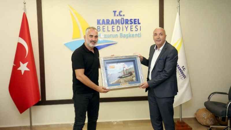 Tuzi Belediye Başkanı Ramoviç'ten Yıldırım'a ziyaret