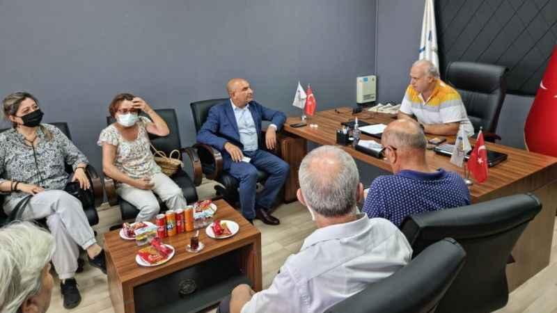 CHP'li Tarhan bölge çalışmalarına Kartepe'den başladı…
