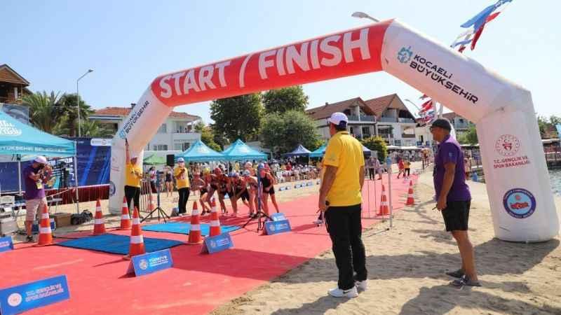 Biathle Triathle Şampiyonası,Kocaeli'de başladı