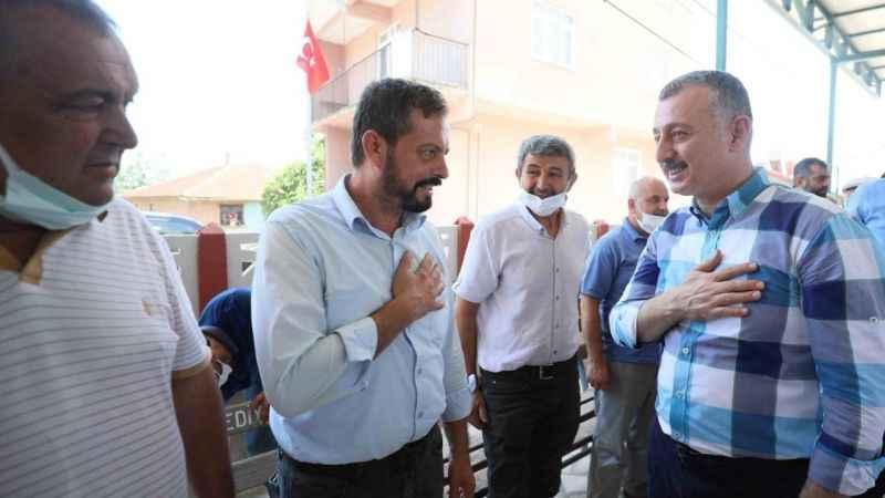 Başkan Büyükakın, İzmit Eseler ve Durhasan köylerinde