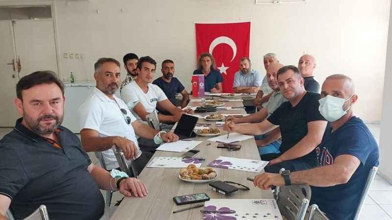 Gebzespor'da yeni yönetimin görevleri belli oldu