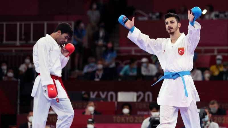Yılın sporcusu seçtiğimiz Eray Şamdan'dan Tokyo'da gümüş madalya kazandı