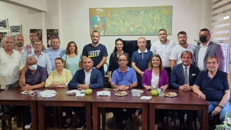 CHP'den Makedonya Derneği'neziyareti