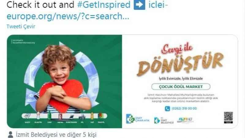 Çocuk Ödül Market uluslararası alanda yankı uyandırdı