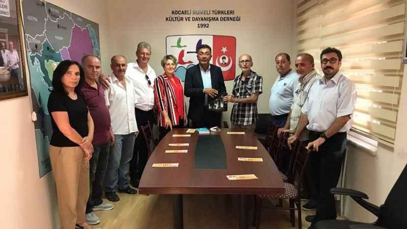 İYİ Parti, Rumeli Türkleri'ni ziyaret etti