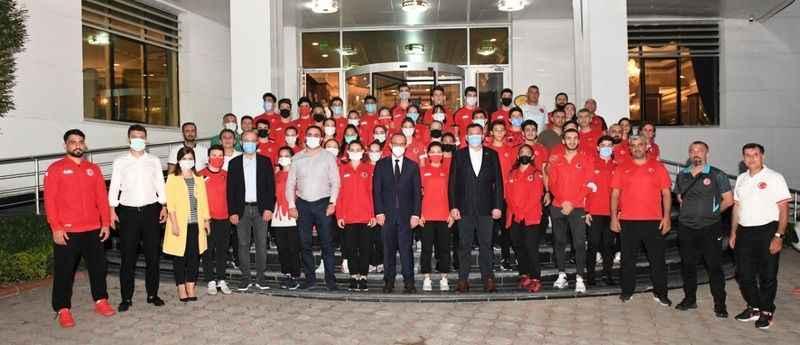 'Devletimiz; Spora, sporcuya  önemli destekler veriyor'
