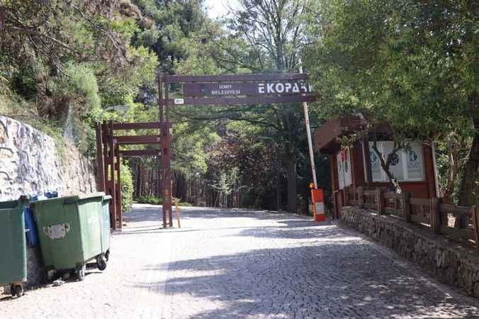 İzmit Belediyesi'nden Ekopark'a bakım