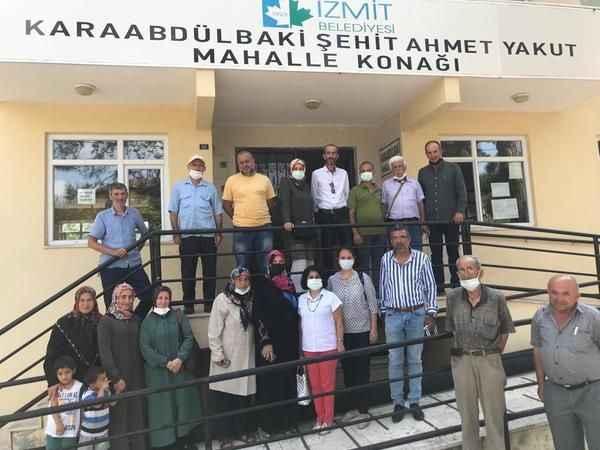 Karaabdülbaki Üretici Pazarı'nda stantlar her cuma günü açılacak