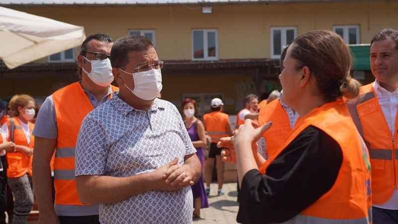 Hürriyet, Milas'ta koordinasyon merkezini ziyaret etti