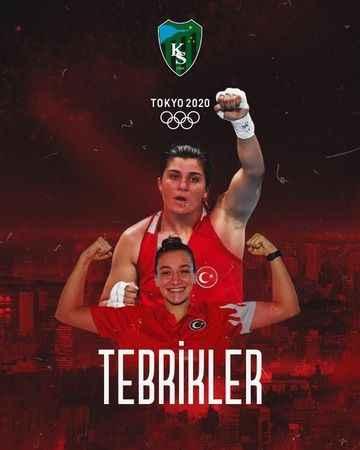 Kocaelispor'dan milli  boksörlerimize kutlama