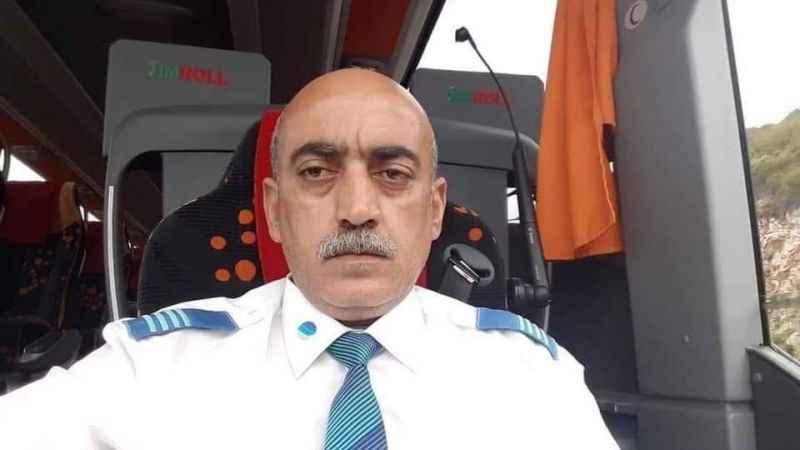 Otobüsün ikinci şoförü ölüme uykuda yakalanmış