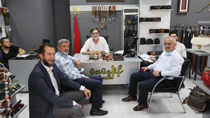 Aygün ve Çakır'dan esnaf ziyaretleri
