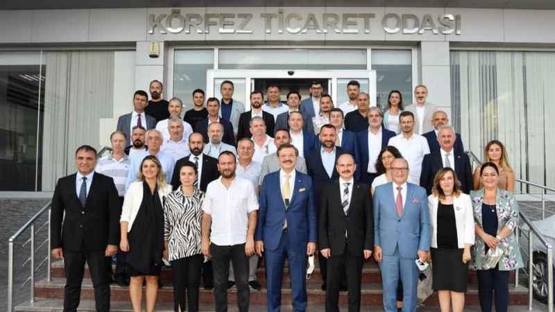 TOBB Başkanı Hisarcıkloğlu'ndan KTO'ya ziyaret