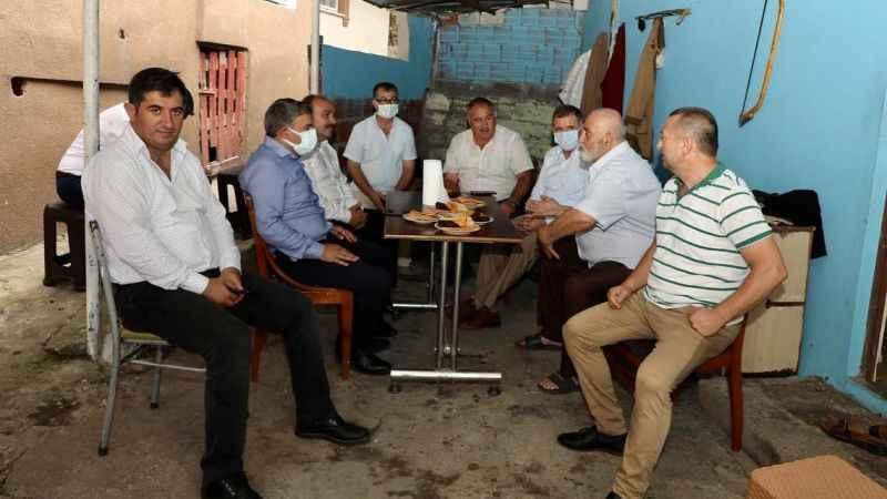AKP'li Şeker gün boyu Dilovası'ndaydı