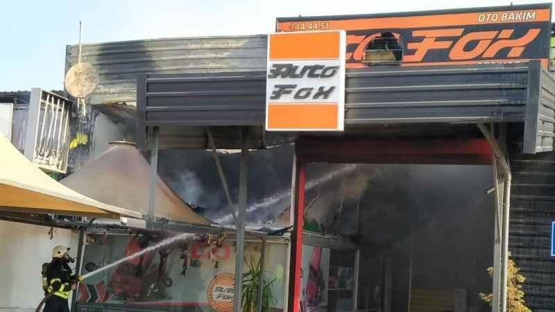 Sanayi Mahallesi'nde yangın paniği