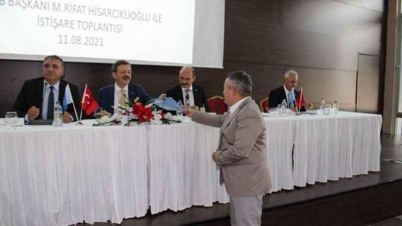 KTO Sigorta Komitesinden Rifat Hisarcıklıoğlu'na dosya