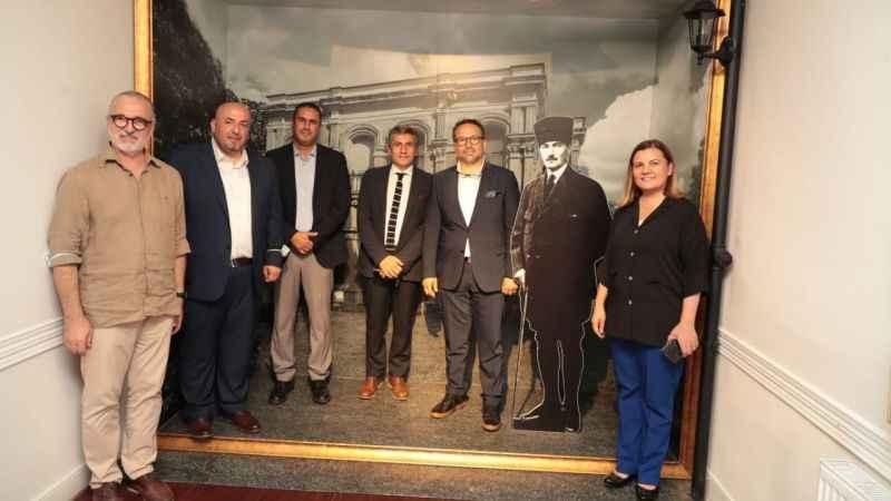 Beltur'un üst düzey yöneticileri Atatürk Evi'ne hayran kaldı