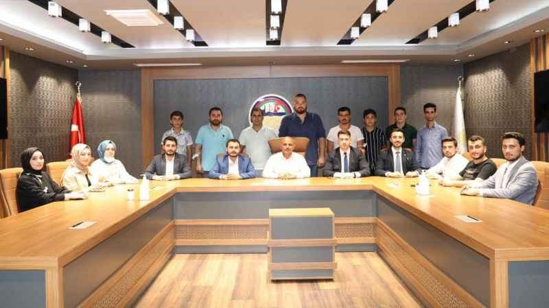 Söğüt, AKP'li gençleri ağırladı