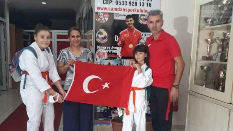 Kırbaş ailesinden Şamdan ailesine kutlama