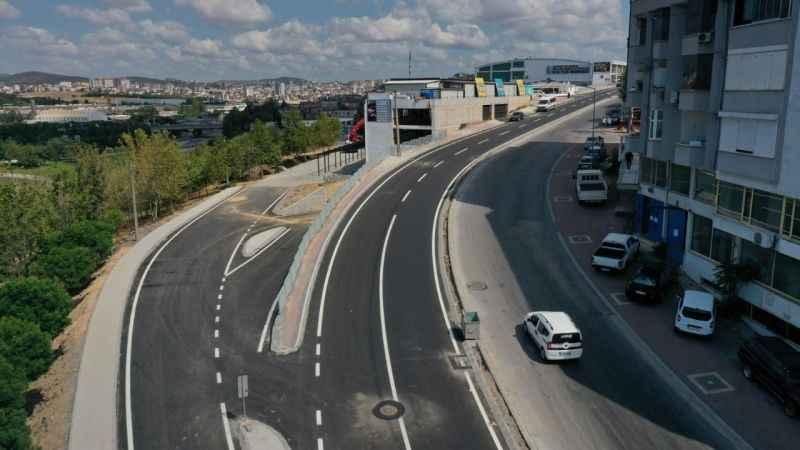 Çayırova Fatih Caddesi, yeni hali ile vatandaşın hizmetinde
