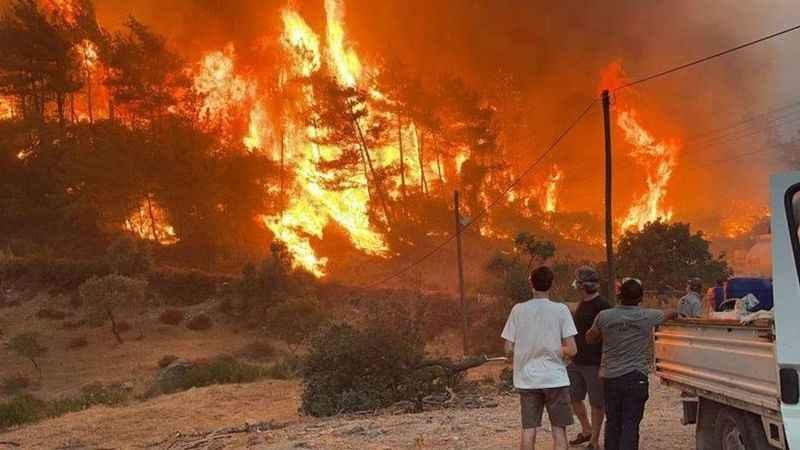 Orman yangınları astım için büyük tehdit