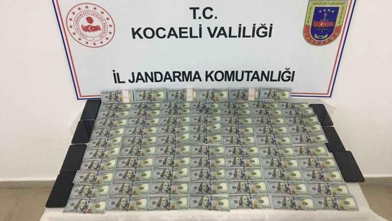 Gebze'de 570 bin TL değerinde sahte Amerikan Doları ele geçirildi!