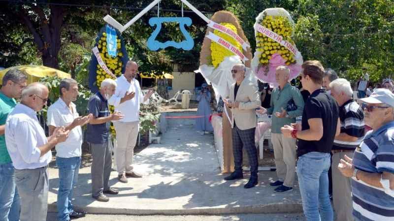 'Metruk Kafe' törenle açıldı