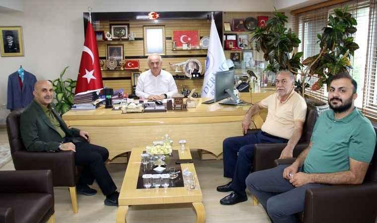 Özdemir'den Derince  Belediyesi'ne ziyaret