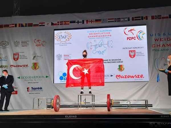 Ceren Akarsu  Avrupa Şampiyonu