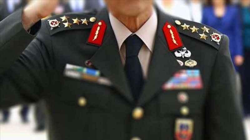 114 amiral ve generalin görev yeri değişti