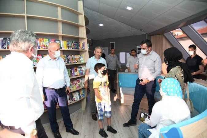 İzmitli çocuklar için kütüphane açılıyor
